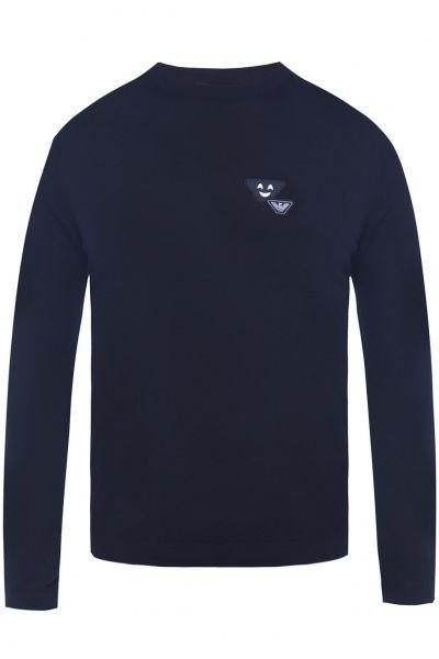 Пуловер мужские Emporio Armani MAN JERSEY PULLOVER 5O52 примерка, 2017