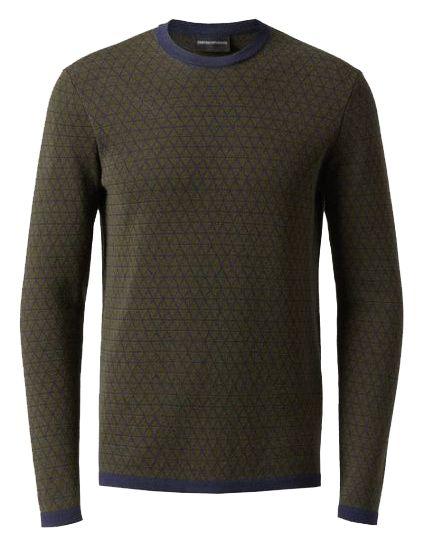 Пуловер мужские Emporio Armani модель 5O570 отзывы, 2017