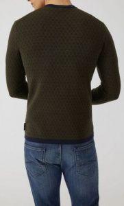 Пуловер мужские Emporio Armani модель 5O570 цена, 2017
