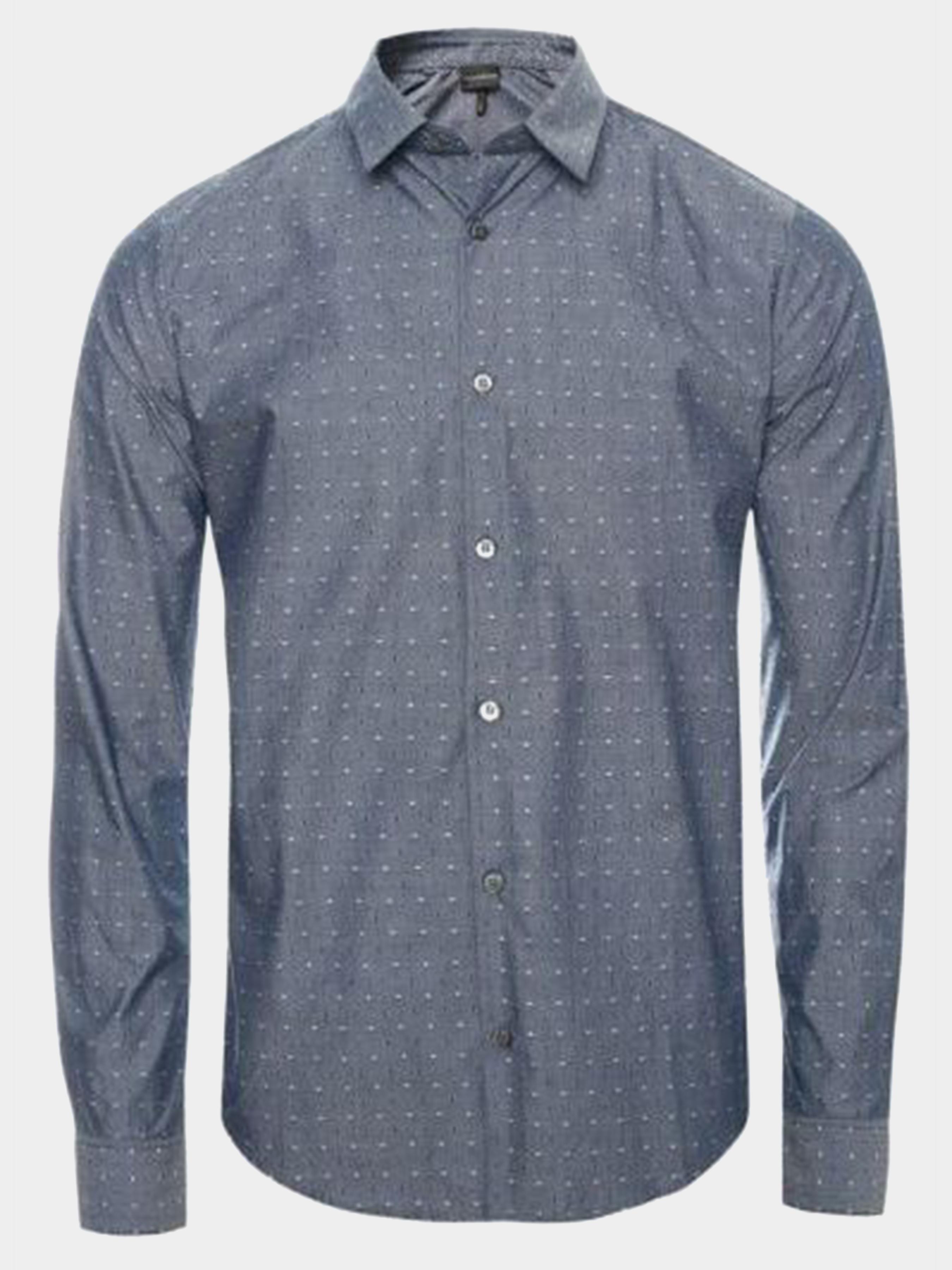 Рубашка с длинным рукавом мужские Emporio Armani модель 5O67 приобрести, 2017