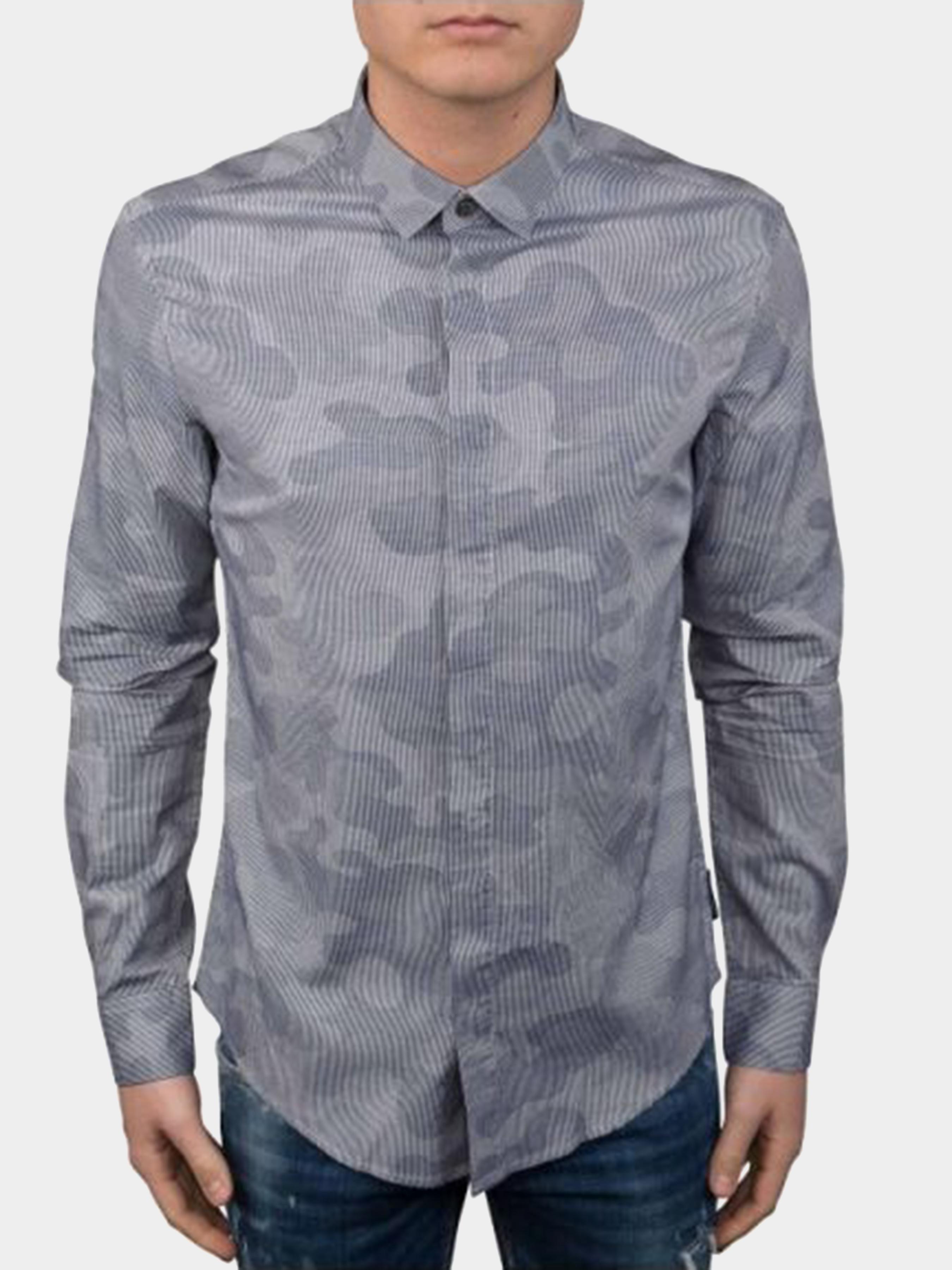 Рубашка мужские Emporio Armani модель 3Z1C65-1NRGZ-F900 приобрести, 2017