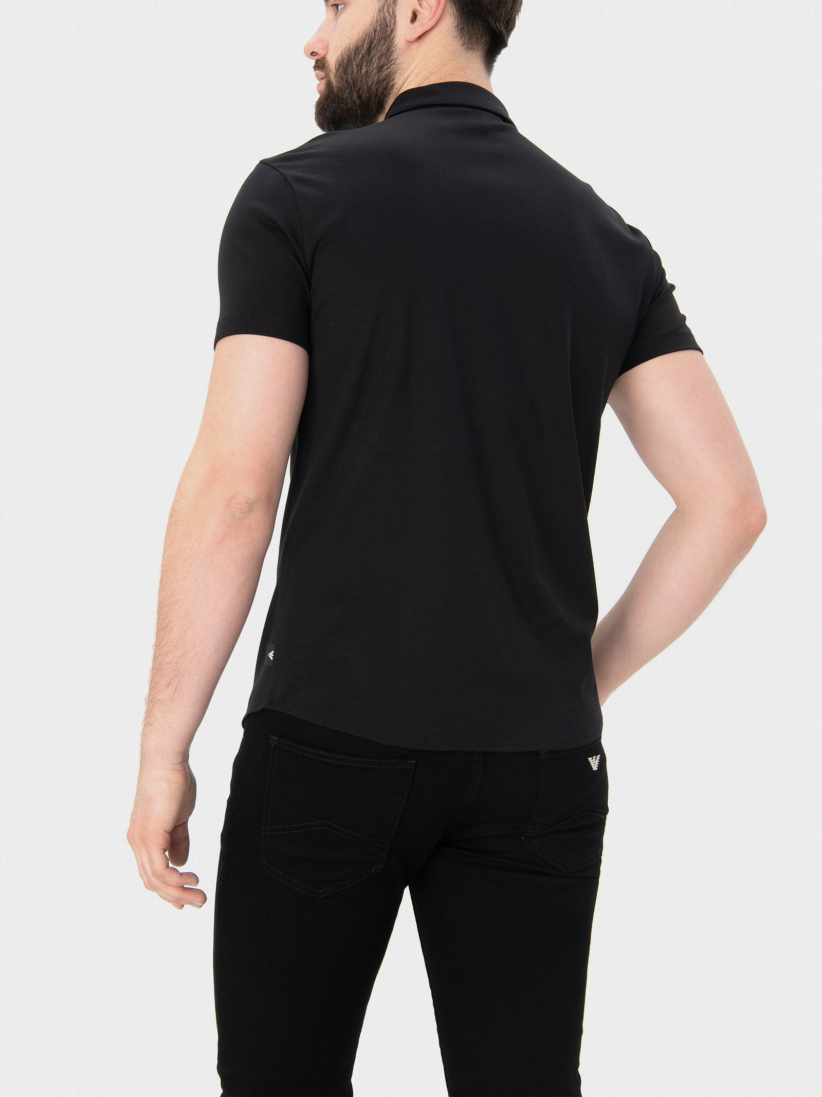 Рубашка мужские Emporio Armani модель 8N1CH5-1JPRZ-0999 , 2017