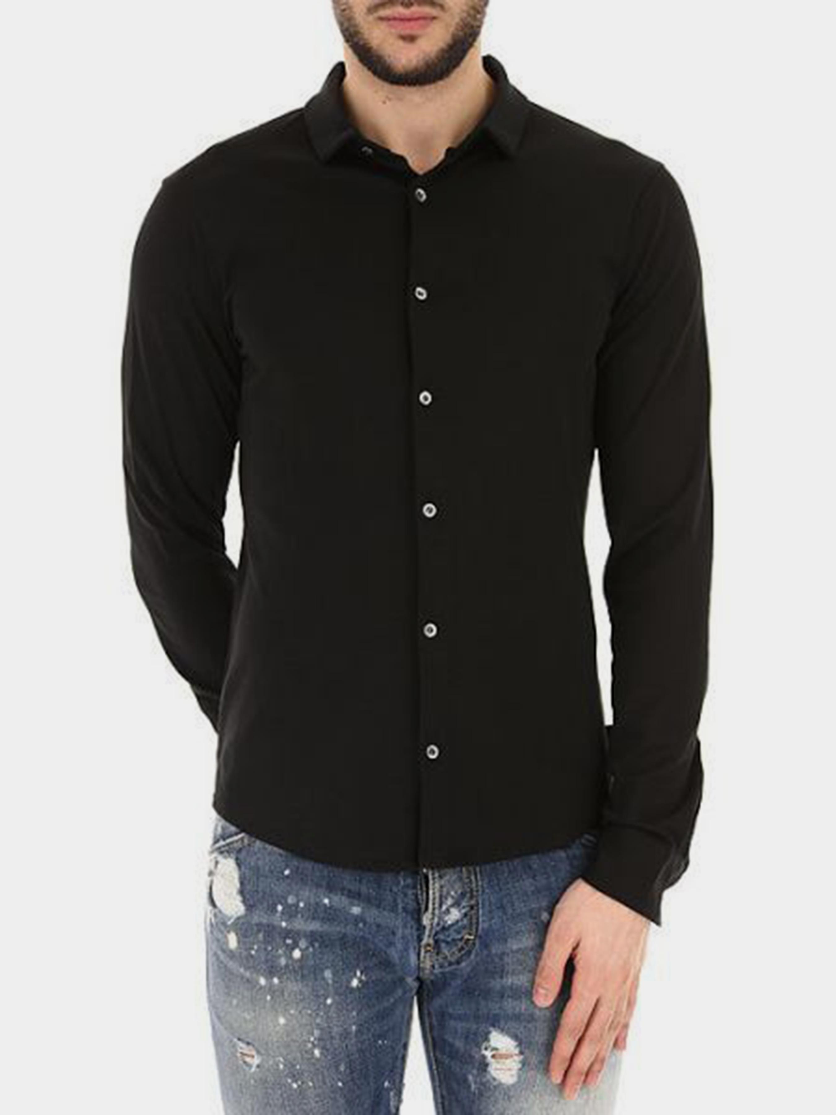 Рубашка с длинным рукавом мужские Emporio Armani MAN JERSEY SHIRT 5O77 цена, 2017