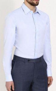 Рубашка с длинным рукавом мужские Emporio Armani модель 5O78 цена, 2017