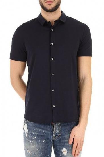 Рубашка с коротким рукавом мужские Emporio Armani модель 5O89 качество, 2017