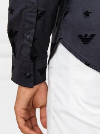Сорочка з довгим рукавом Emporio Armani модель 6G1CB2-1NUXZ-0999 — фото 5 - INTERTOP