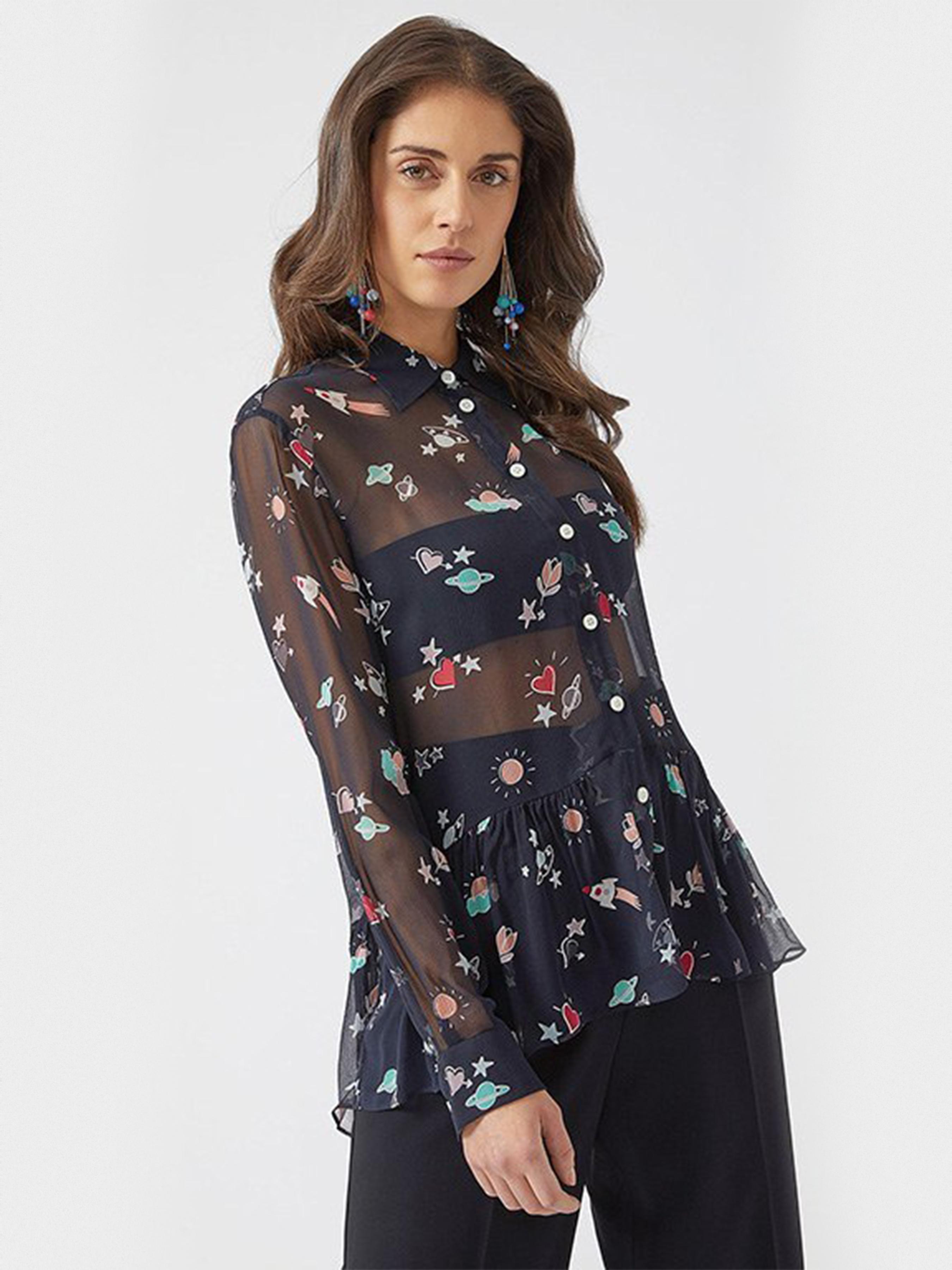 Блуза женские Emporio Armani модель 5P4 купить, 2017