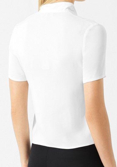 Блуза з коротким рукавом Emporio Armani модель 6Z2K64-2N64Z-0101 — фото 3 - INTERTOP