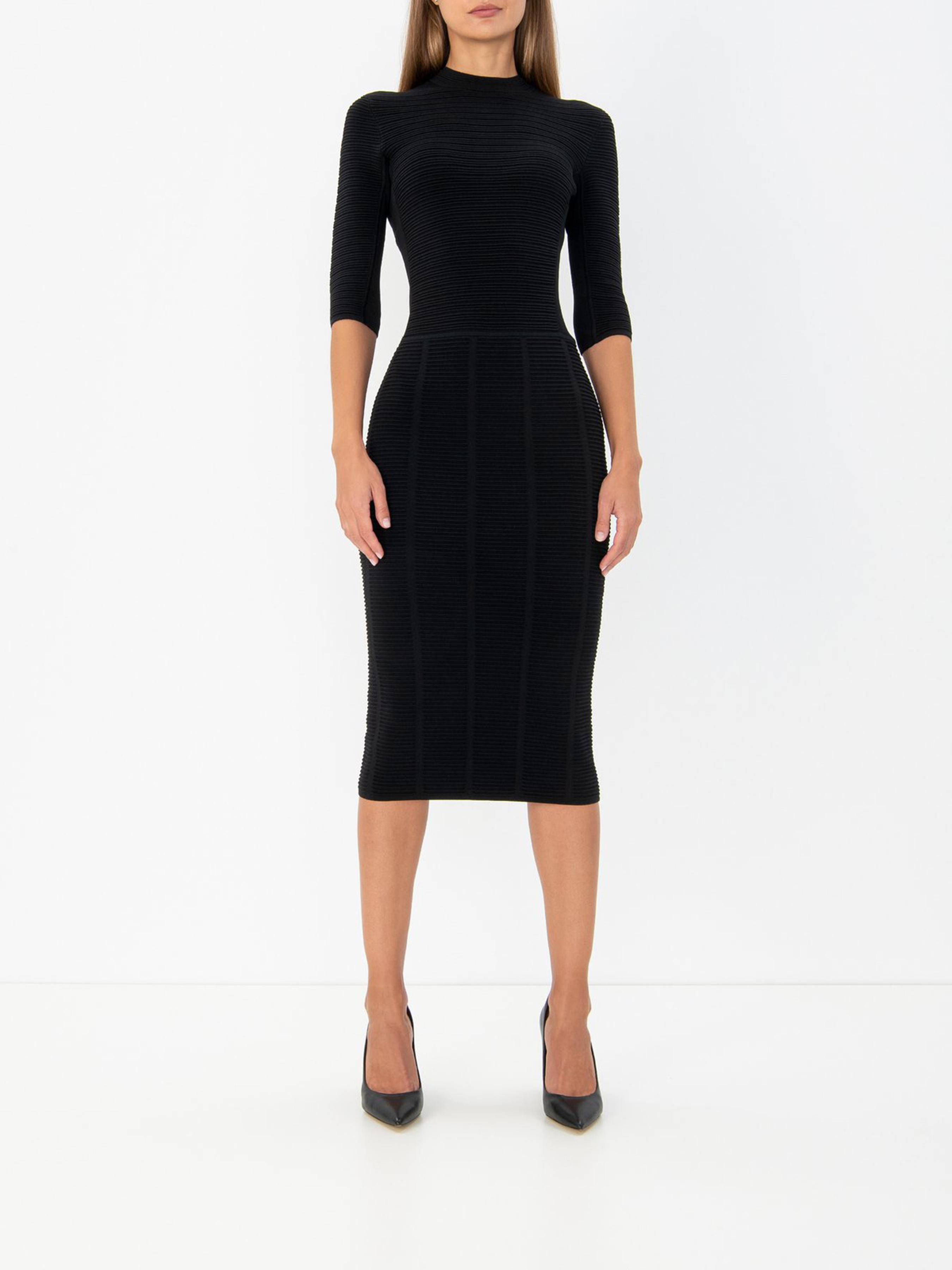 Платье женские Emporio Armani модель 5P663 качество, 2017