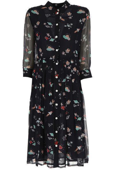 Платье для женщин Emporio Armani WOMAN DRESS 5P76 размеры одежды, 2017