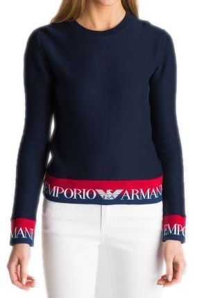 Пуловер для женщин Emporio Armani WOMAN JERSEY SWEATER 5P95 цена, 2017