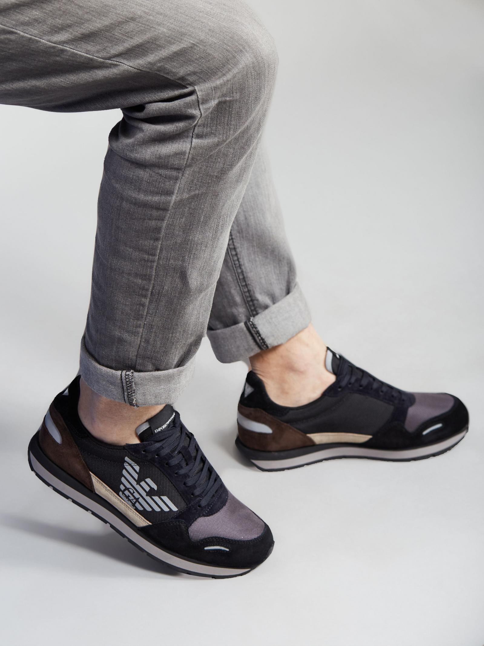 Кроссовки женские Emporio Armani 5Q129 купить обувь, 2017