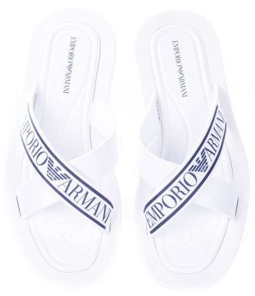 Шлёпанцы для мужчин Emporio Armani MAN SANDAL 5Q13 брендовая обувь, 2017