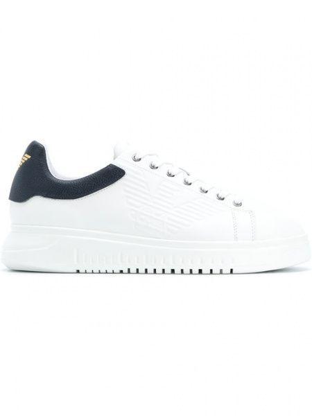 Кроссовки мужские Emporio Armani MAN SNEAKER 5Q15 размеры обуви, 2017