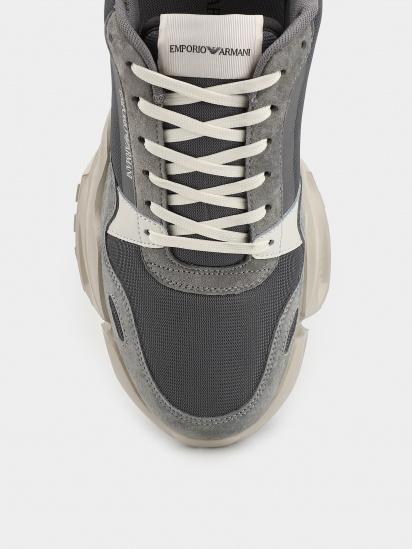 Кросівки для міста Emporio Armani модель X4X324-XM675-N485 — фото 4 - INTERTOP