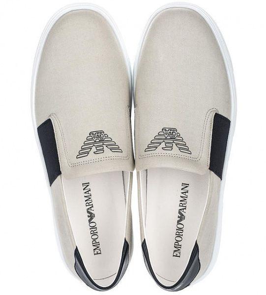Слипоны для мужчин Emporio Armani MAN SNEAKER 5Q30 цена обуви, 2017