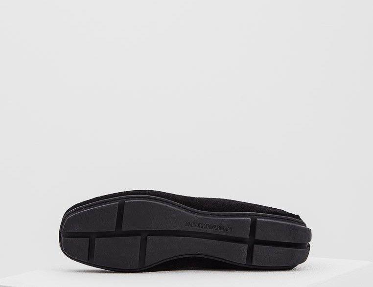 Мокасины для мужчин Emporio Armani MAN DRIVER SHOE 5Q4 примерка, 2017