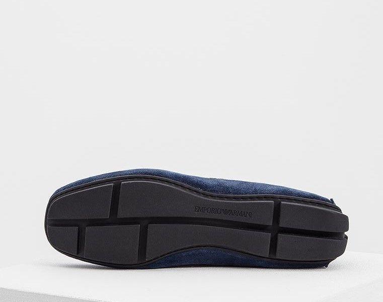 Мокасины для мужчин Emporio Armani MAN DRIVER SHOE 5Q5 примерка, 2017