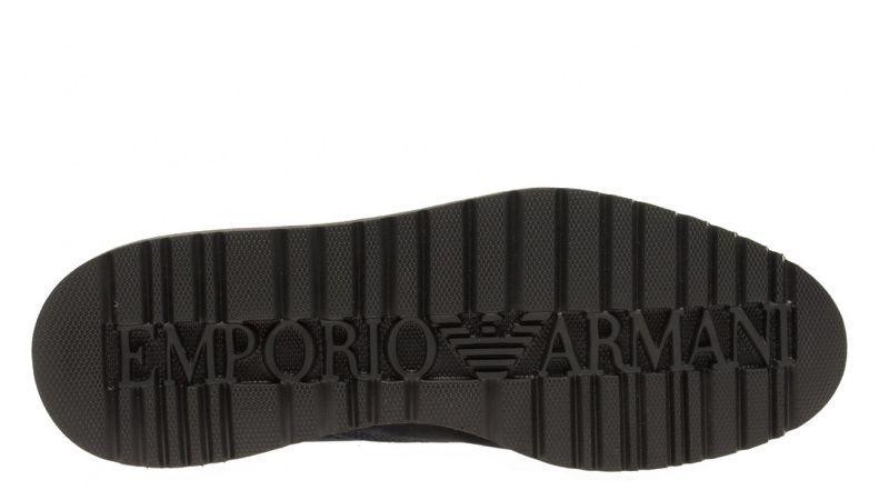 Полуботинки мужские Emporio Armani MAN LEATHER LACED SHOE 5Q52 примерка, 2017