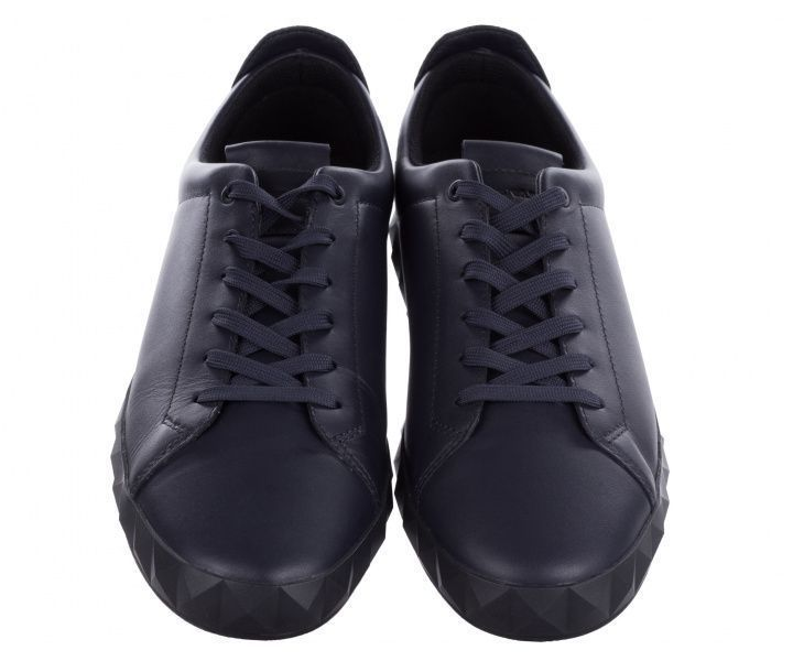 Кроссовки для мужчин Emporio Armani MAN LEATHER SNEAKER 5Q54 примерка, 2017
