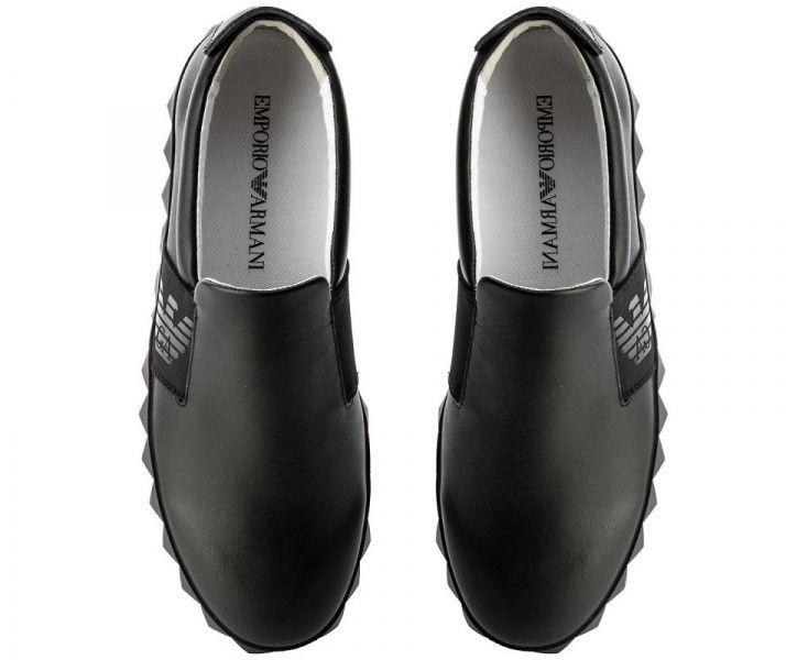 Кроссовки для мужчин Emporio Armani MAN LEATHER SNEAKER 5Q57 брендовая обувь, 2017