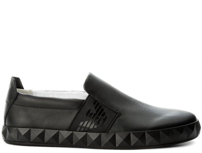 Кроссовки для мужчин Emporio Armani MAN LEATHER SNEAKER 5Q57 цена, 2017