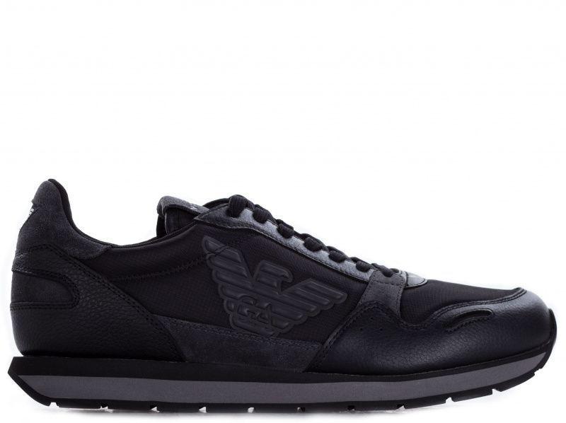 Кроссовки для мужчин Emporio Armani MAN LEATHER SNEAKER 5Q60 цена, 2017