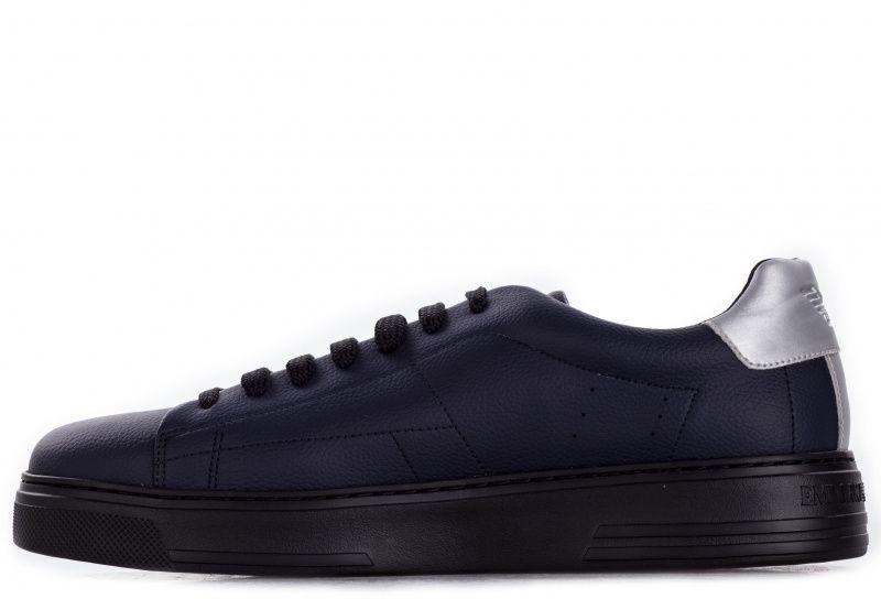 Кроссовки для мужчин Emporio Armani MAN LEATHER SNEAKER 5Q63 брендовая обувь, 2017