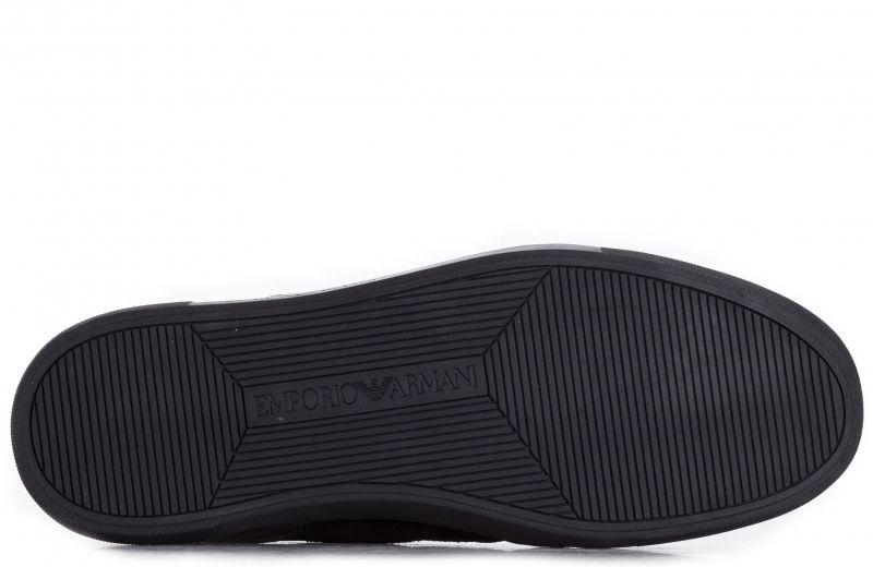 Кроссовки мужские Emporio Armani MAN LEATHER SNEAKER 5Q68 размерная сетка обуви, 2017