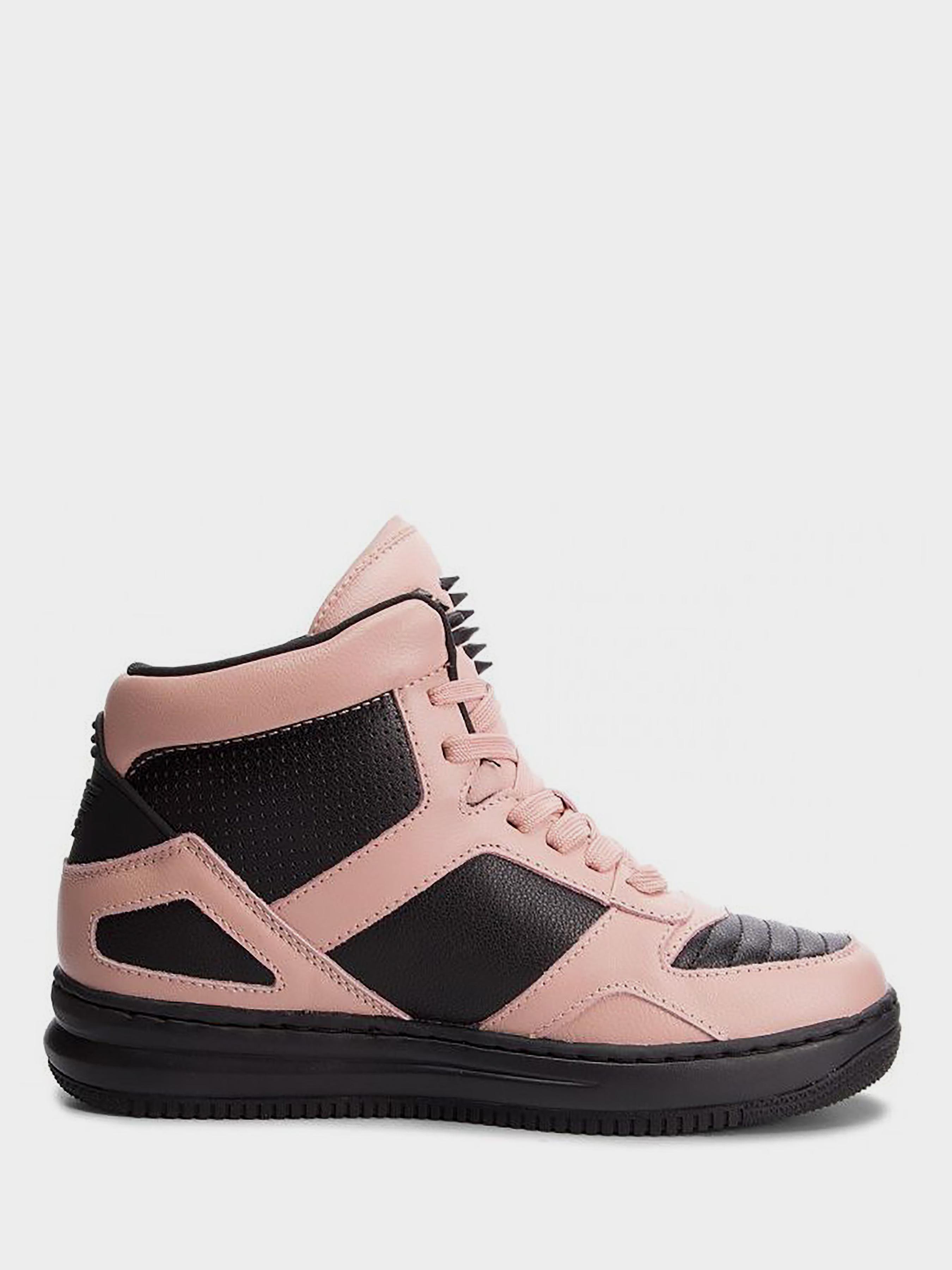 Купить Кроссовки для женщин Emporio Armani WOMAN LEATHER SNEAKER 5R104, Розовый