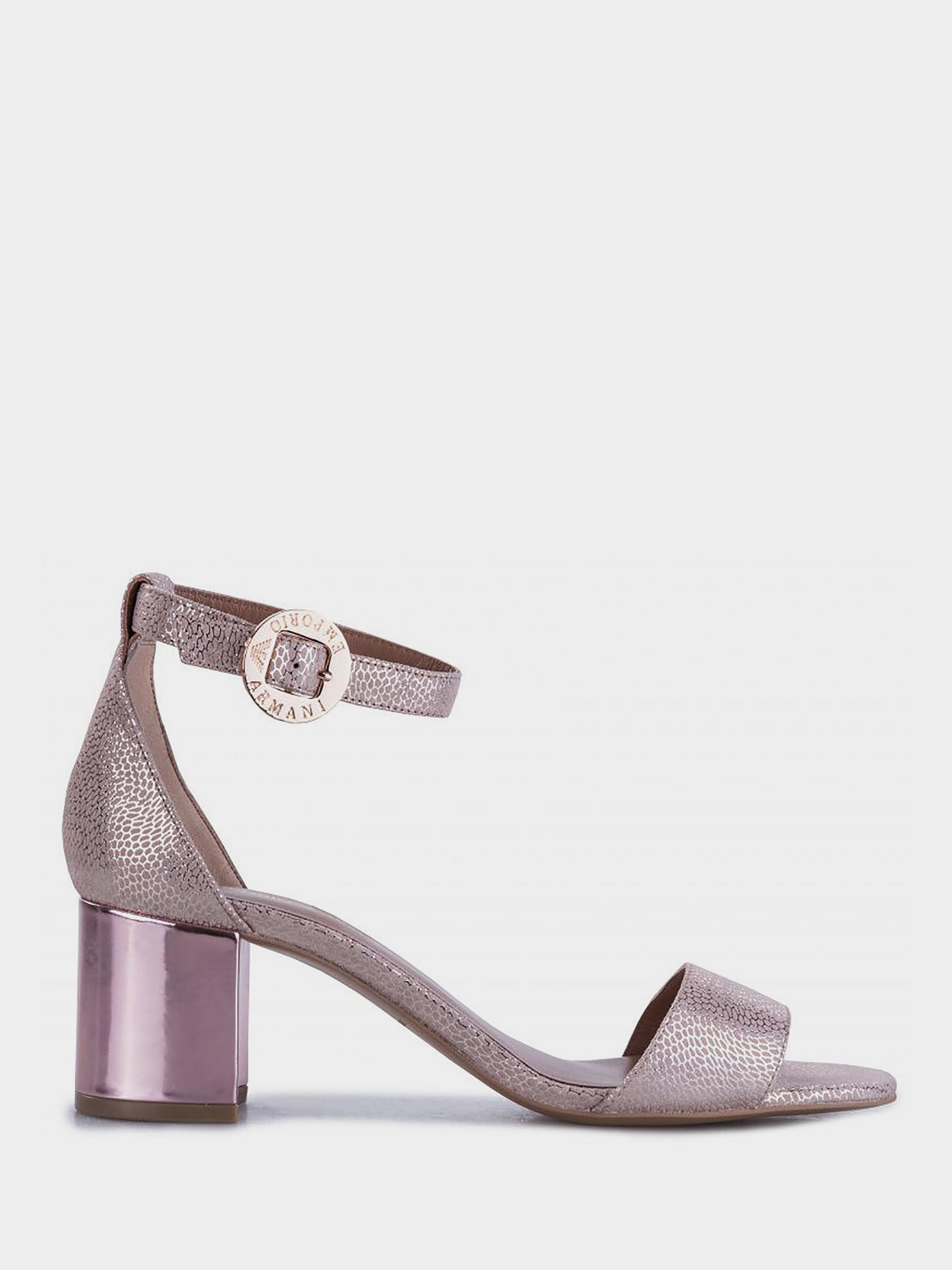 Босоножки женские Emporio Armani 5R117 модная обувь, 2017