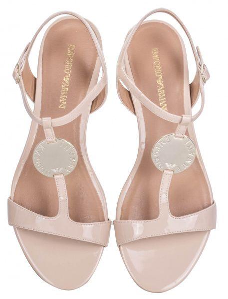 Босоніжки  жіночі Emporio Armani X3P640-XL846-A800 брендове взуття, 2017