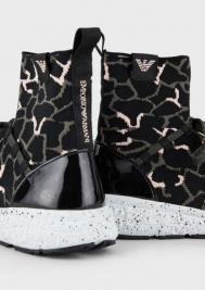 Кроссовки женские Emporio Armani 5R151 брендовая обувь, 2017