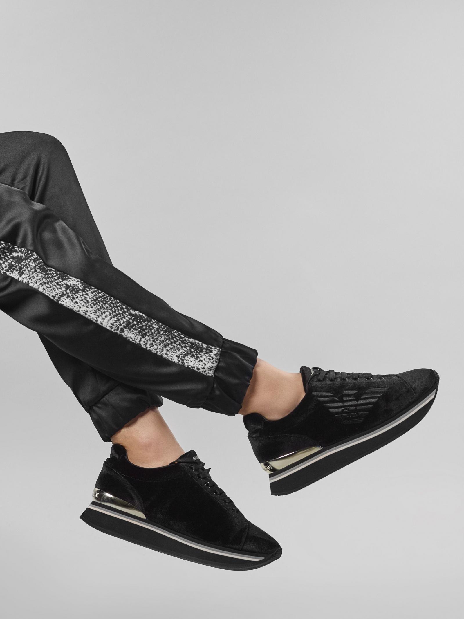 Кроссовки женские Emporio Armani 5R161 купить обувь, 2017