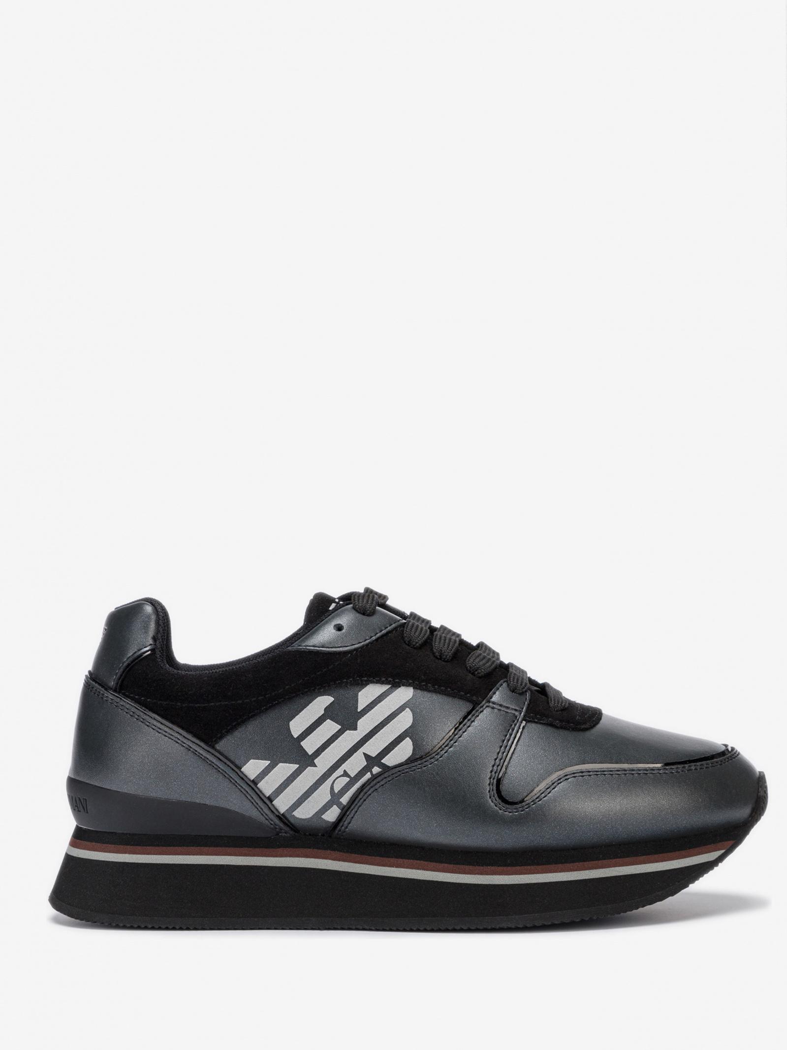 Кроссовки для женщин Emporio Armani 5R162 брендовая обувь, 2017
