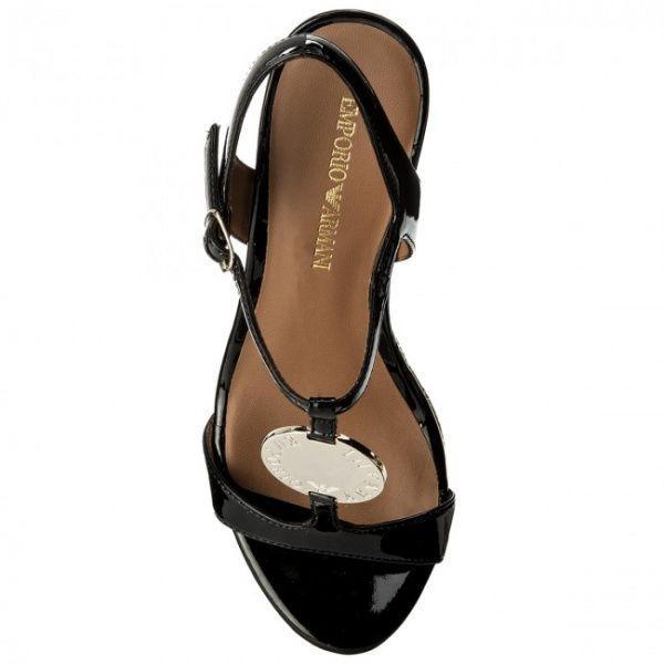 Босоножки для женщин Emporio Armani WOMAN SANDAL 5R26 брендовая обувь, 2017