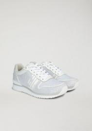 Кроссовки для женщин Emporio Armani WOMAN SNEAKER 5R35 размерная сетка обуви, 2017