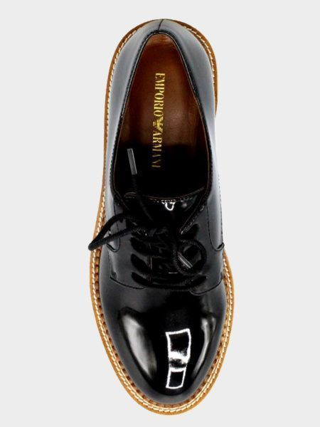 Полуботинки для женщин Emporio Armani WOMAN LACED SHOE 5R6 брендовая обувь, 2017