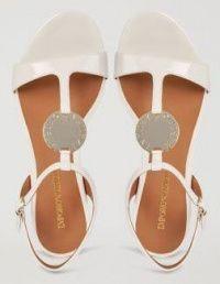 Сандалии для женщин Emporio Armani WOMAN SANDAL 5R7 цена обуви, 2017