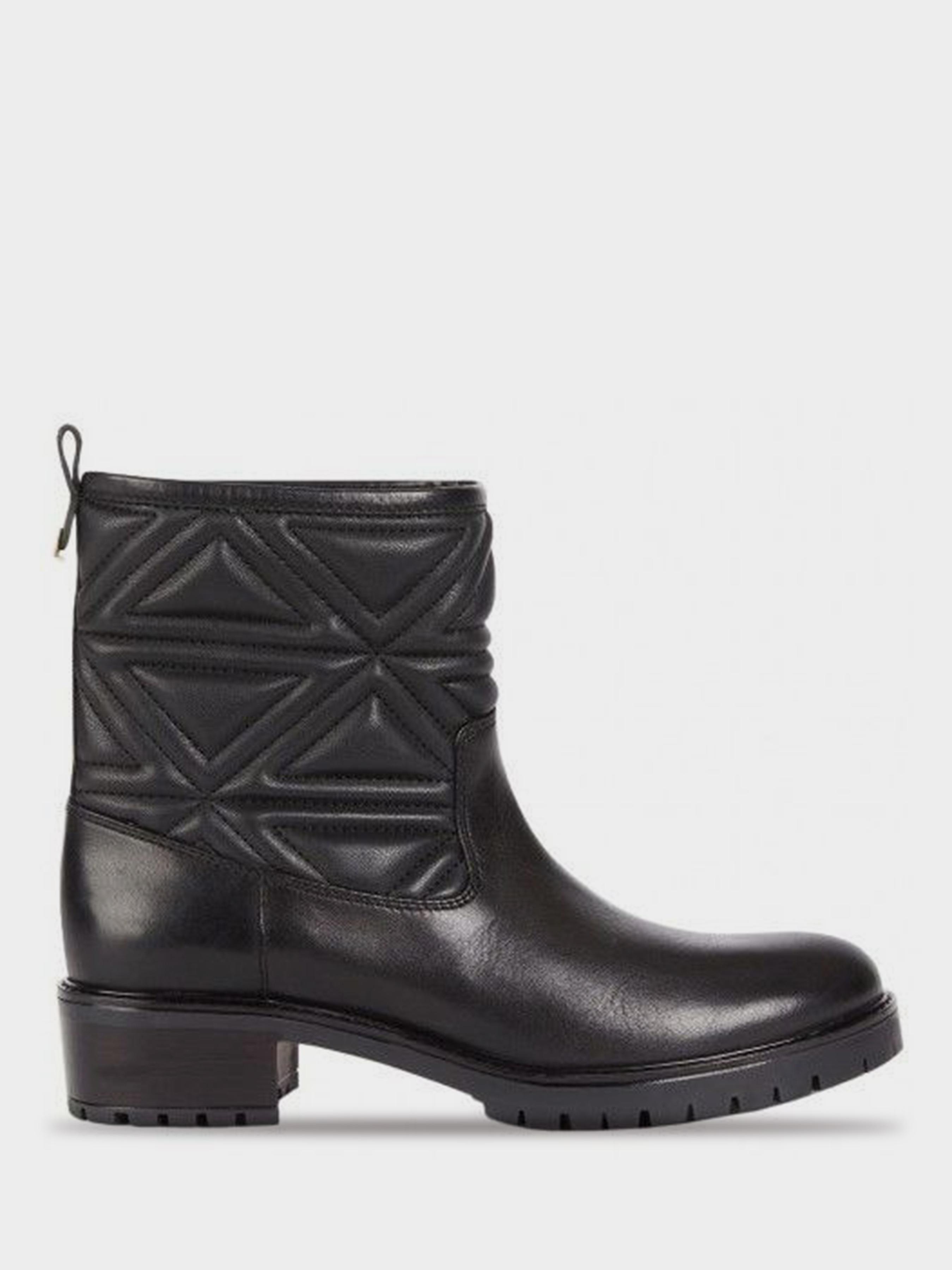 Купить Ботинки для женщин Emporio Armani WOMAN LEATHER BOOT 5R75, Черный