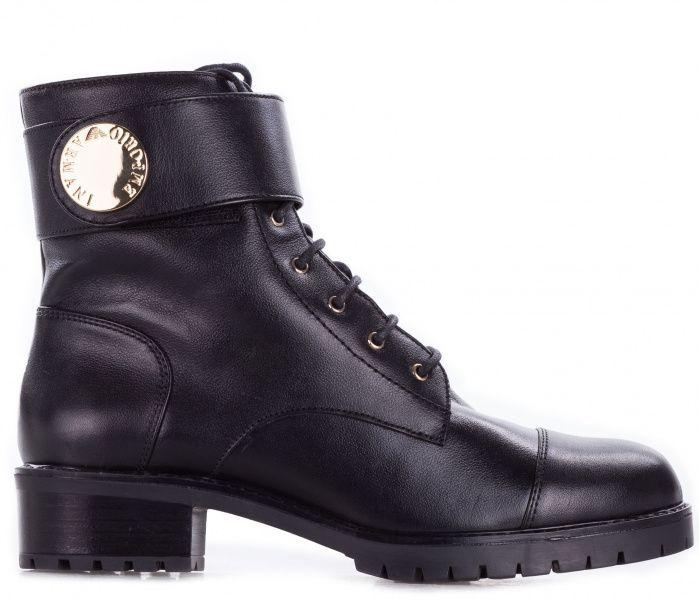 Купить Ботинки для женщин Emporio Armani WOMAN LEATHER BOOT 5R76, Черный