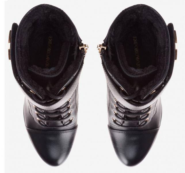 d457a16a5441 ... размерная сетка обуви, 2017. Ботинки для женщин Emporio Armani WOMAN  LEATHER BOOT 5R77 цена, 2017