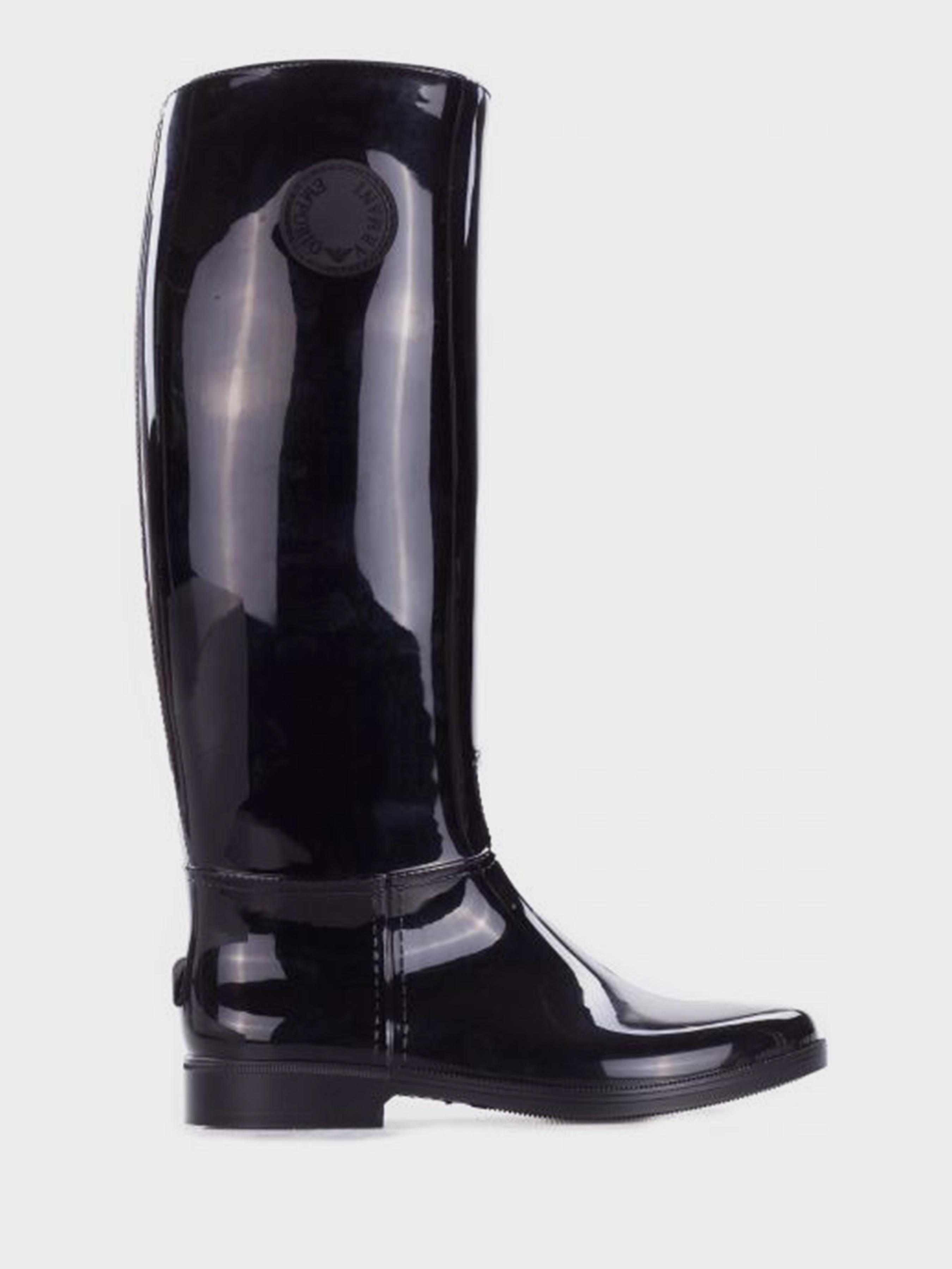 Купить Сапоги для женщин Emporio Armani WOMAN PVC/PLASTIC BOOT 5R81, Черный