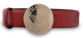 Купить Ремень модель 5S23, Emporio Armani, Красный