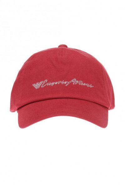 Кепка для мужчин Emporio Armani MAN BASEBALL JERSEY HAT 5S38 размеры одежды, 2017