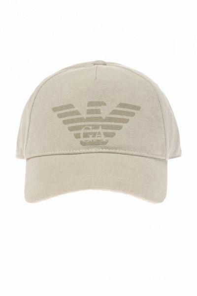 Кепка мужские Emporio Armani MAN BASEBALL JERSEY HAT 5S44 примерка, 2017