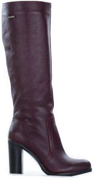 Купить Сапоги женские Kasandra чоботи жін.(36-41) 5W26, Бордовый