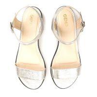 женская обувь Gem серебряного цвета купить, 2017
