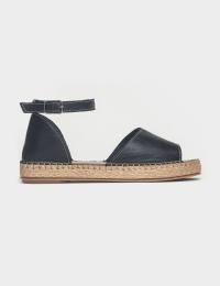 Сандалі  для жінок Сандали 609chr черная кожа 609chr ціна взуття, 2017