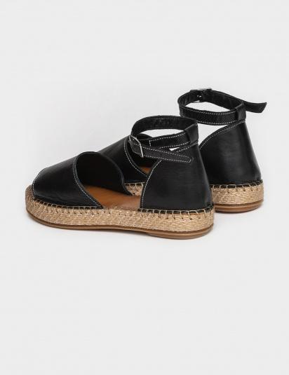 Сандалі  для жінок Сандали 609chr черная кожа 609chr брендове взуття, 2017
